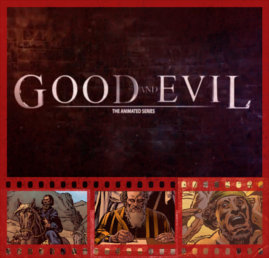 Good and Evil Video DVD filmstrip